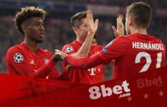 赛事推荐!8bet拜仁vs莱比锡,榜首大战拜仁更有优势